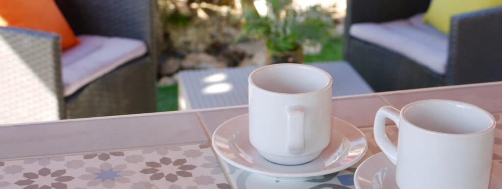 Enjoy a coffee break