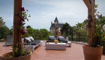 Hoopoe terrace