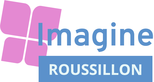 Imagine Roussillon logo pink