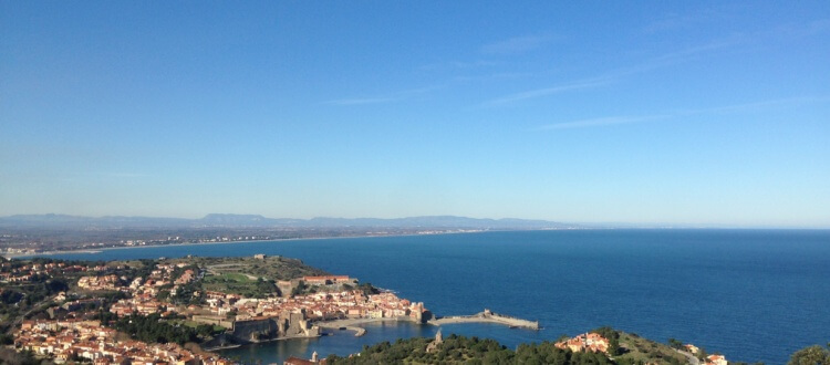 Looking towards Imagine Roussillon - child friendly resort