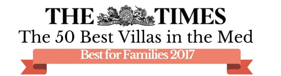 The Times 50 best villas in the Med