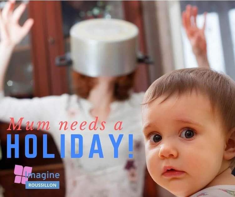 Baby friendly holiday in France